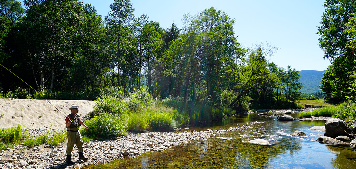 Fly Fishing At Bretton Woods Nh Fly Casting Instruction Equipment