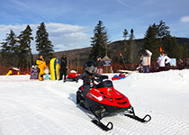 Bretton Woods Kid's Snowmobile Park