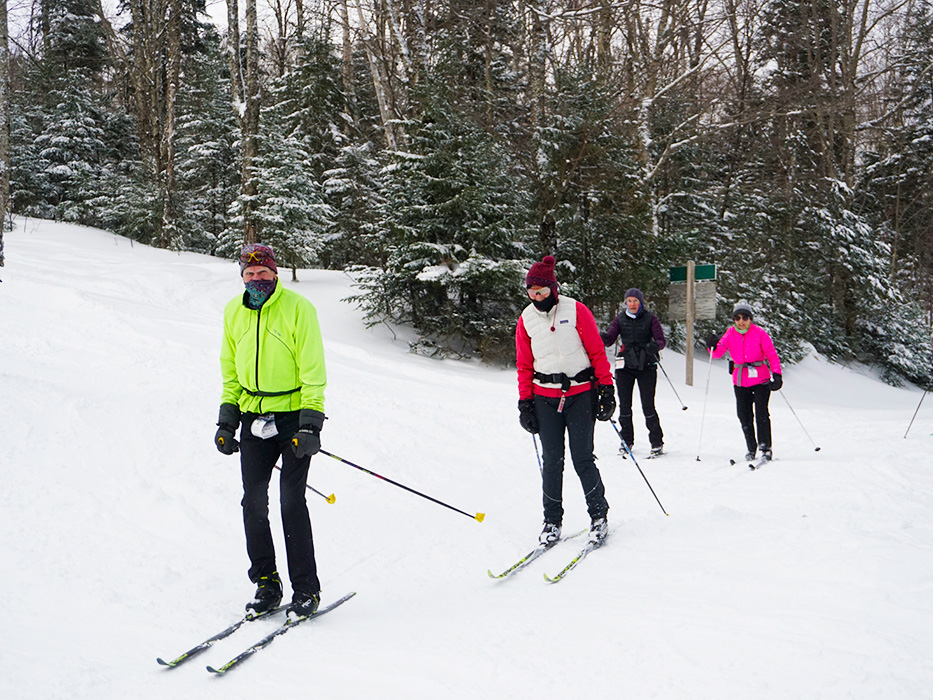 The Mountain Road offers a unique Nordic experience within Bretton Woods resort!