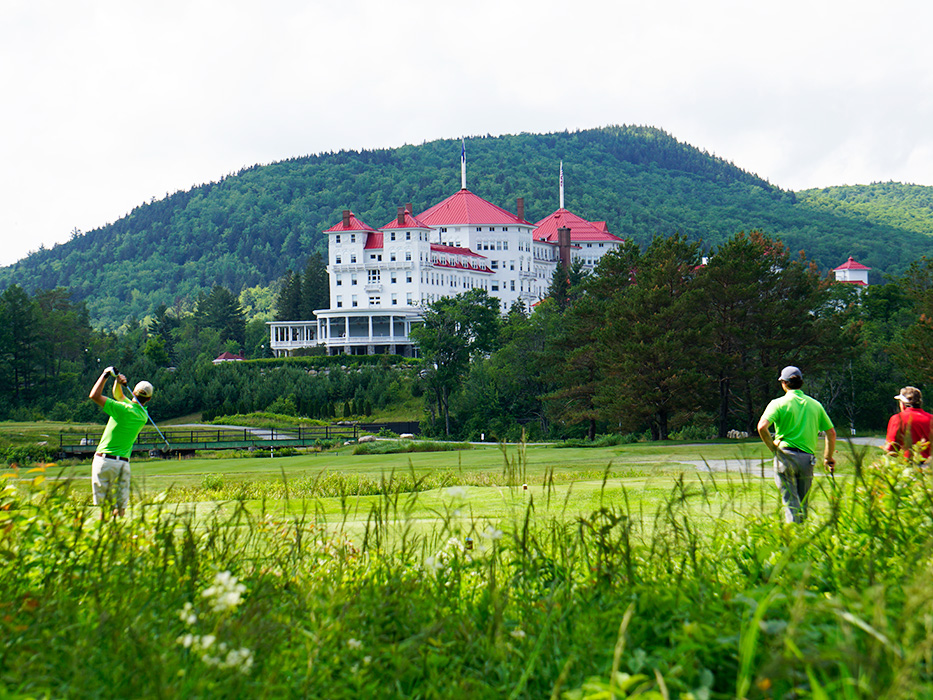The Mount Washington Course is looking great headed into the weekend!