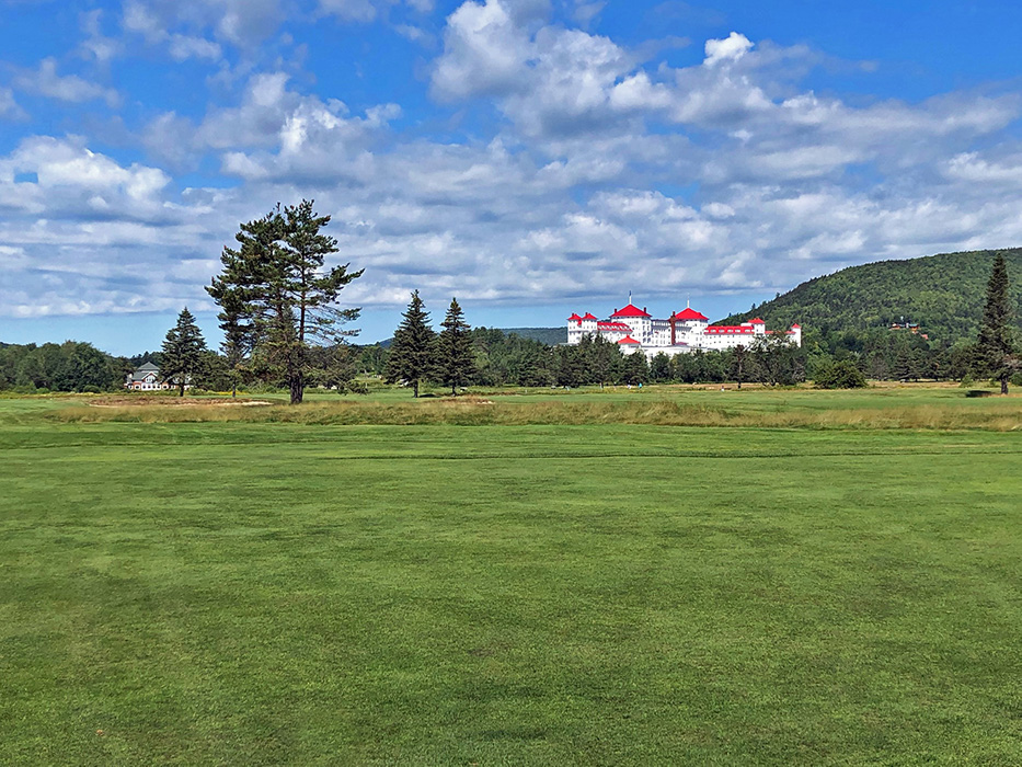 The Mount Washington course is in amazing shape!
