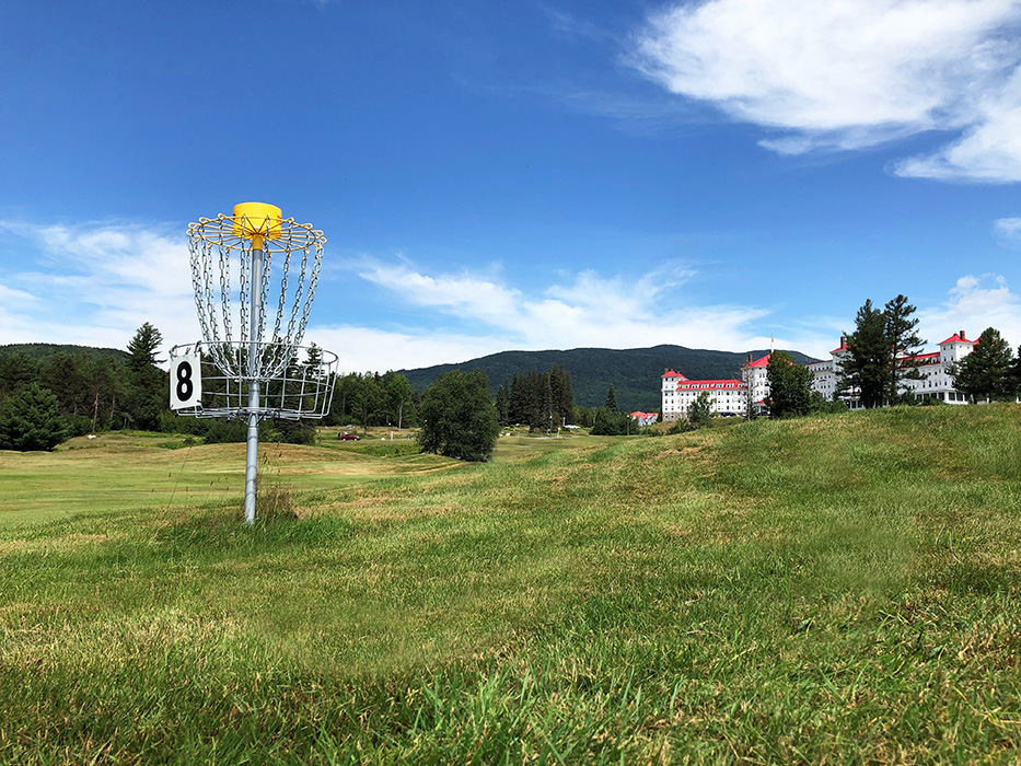 Like disc golf? Check out our new 9-hole course!