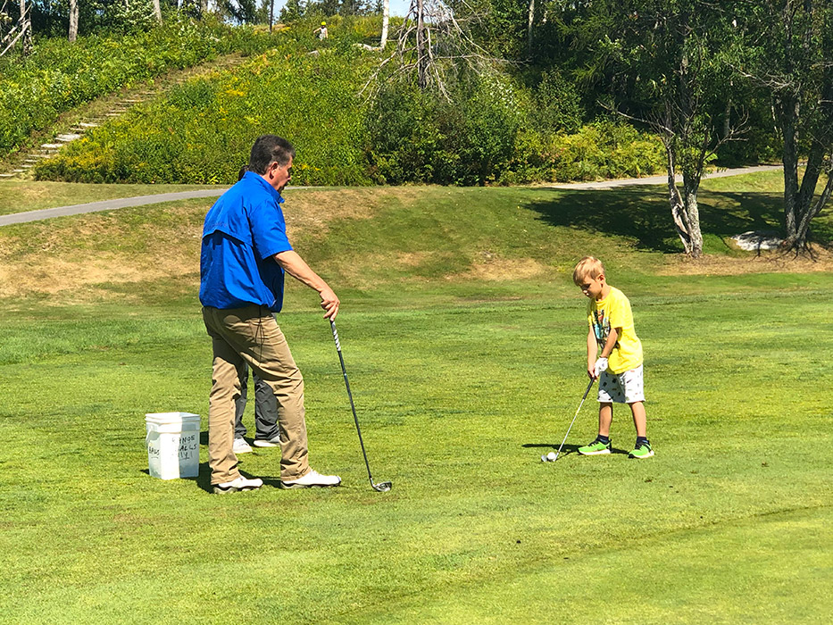 It's never too early to take a lesson from a pro!