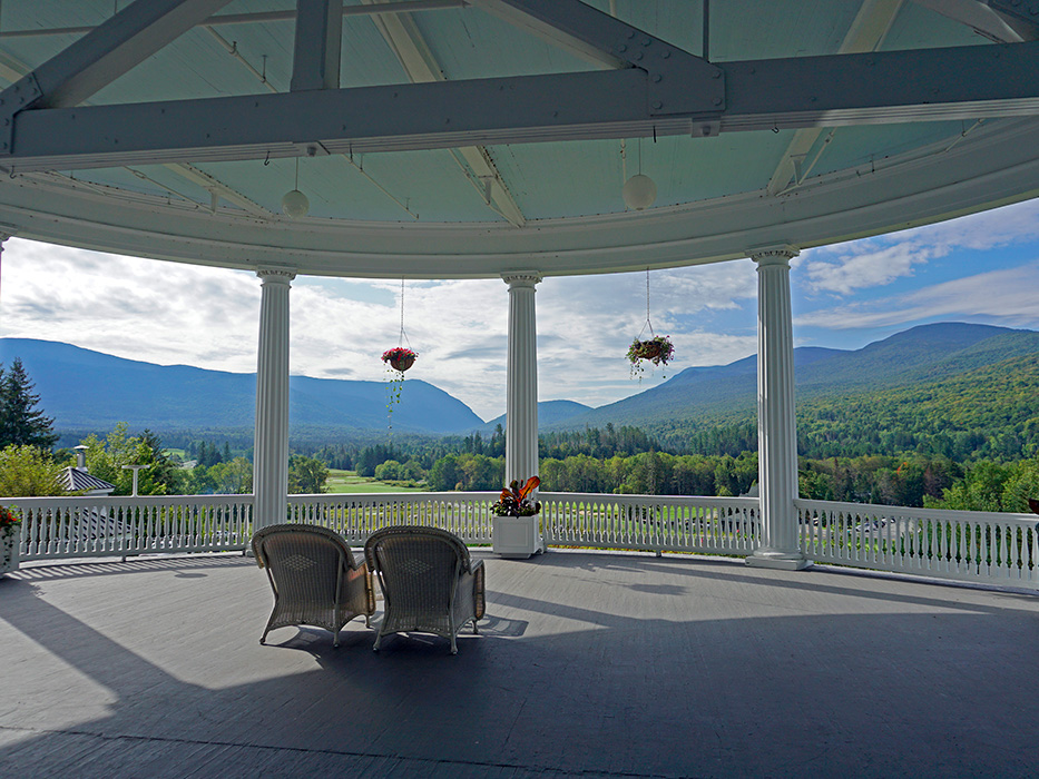 Pull up a chair, relax and enjoy the views from the veranda.