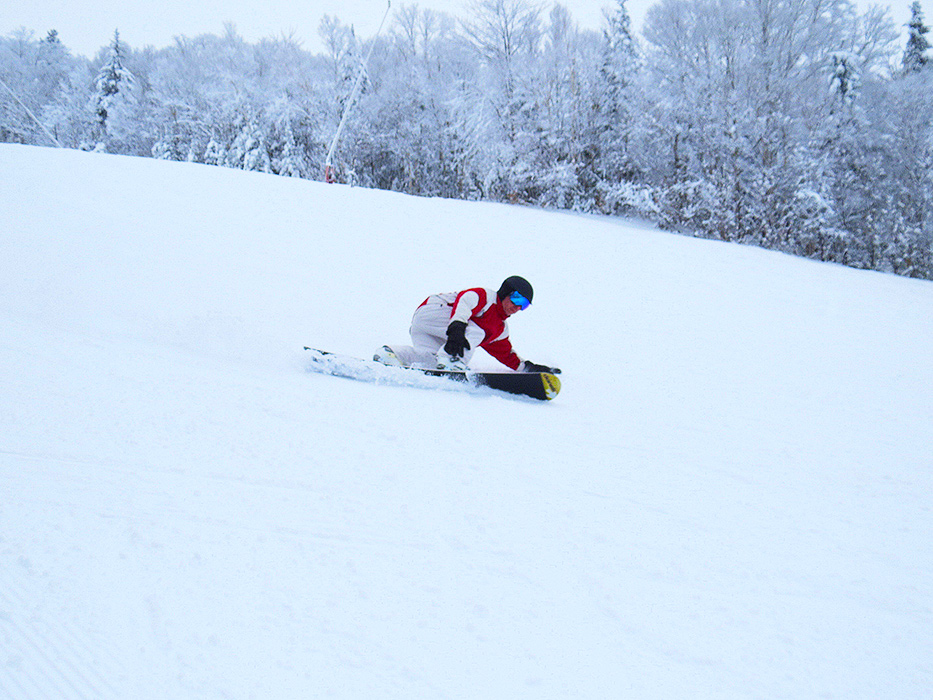 Our groomed trails are soft and perfect for carving...no matter what you ride!