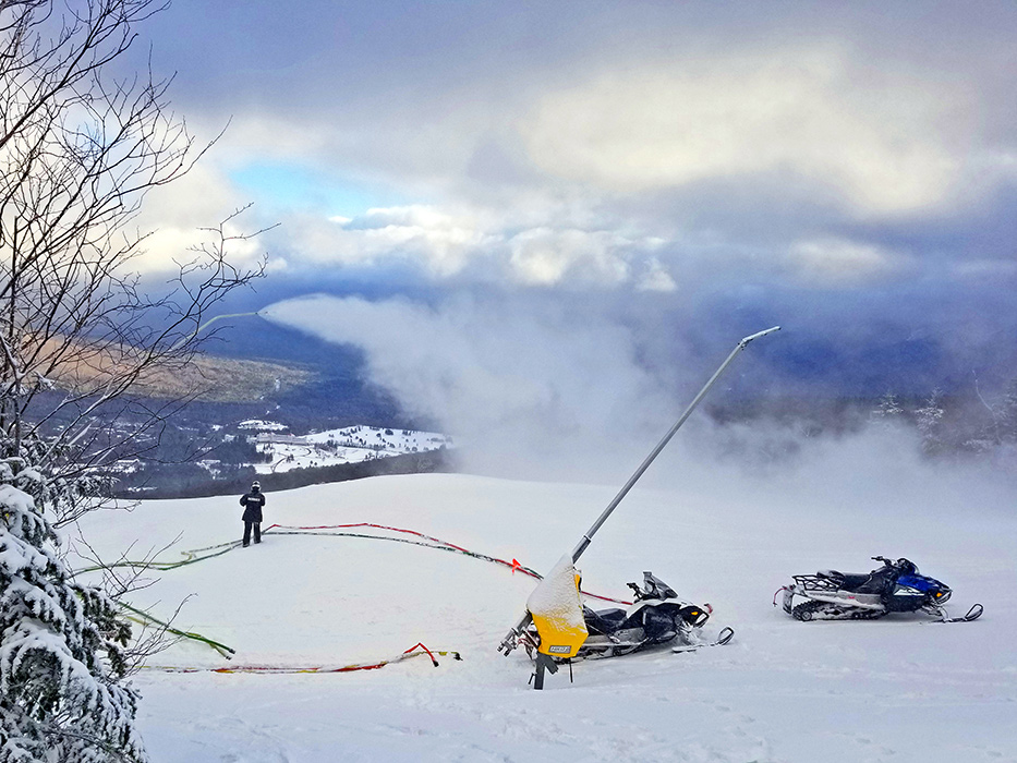 Our snowmakers are some of the best in the biz, come check out what they are putting down.