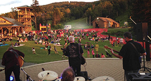 Bretton Woods Autumn Fest live music and fun