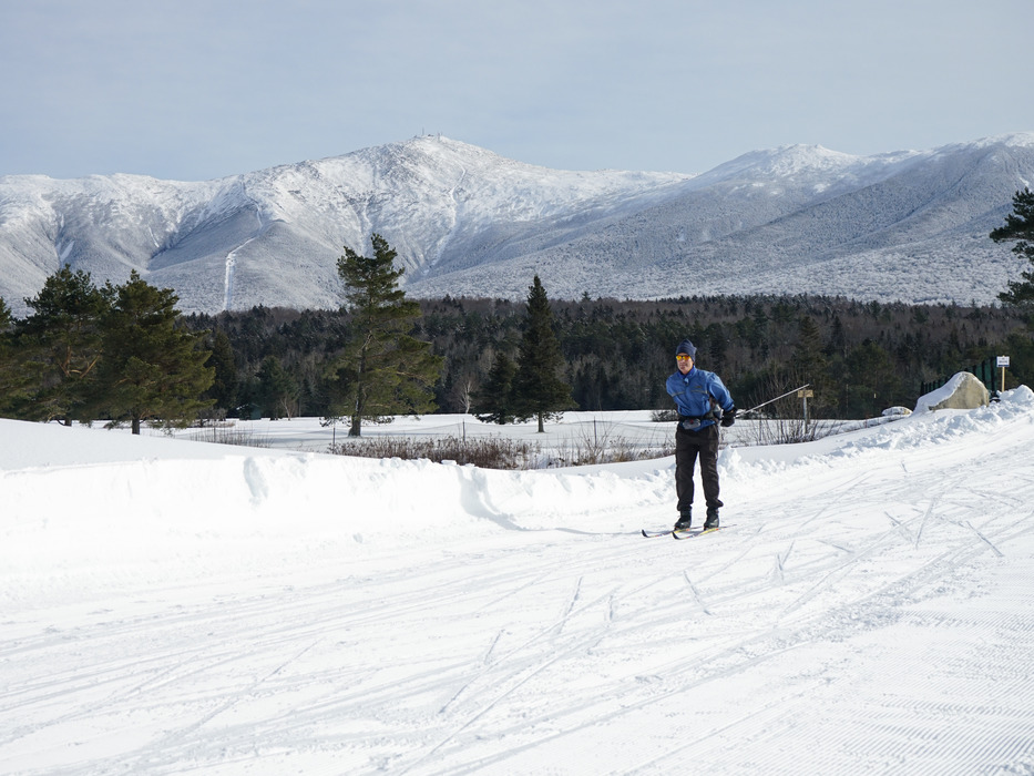 The Nordic Center is open with over 20 km of groomed terrain for skate skiing already!